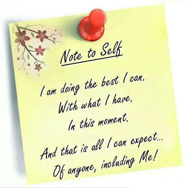 A Positive Note To Self. Find This Pin And More On Quotes I Like ...