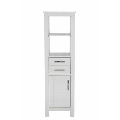 allen + roth Chanceport 17-in Speciality Grey Linen Cabinet