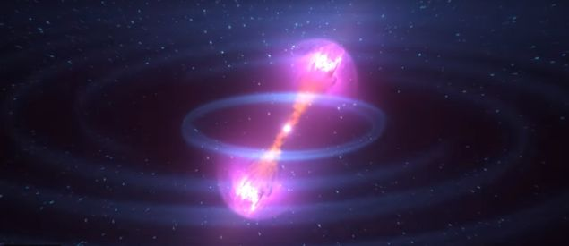 Gravitational waves from a neutron star collision ...