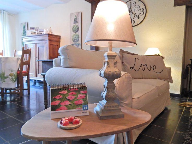 """Lovely cottage """"La Grange"""" in Chiny (Belgium) - ref 989 #love #deco"""