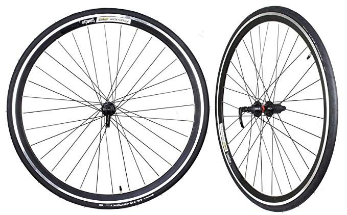 Wtb Freedom Tunnel Top Road Wheelset With Continental Ultrasport Tire 700 X 23c Review Bike Wheel Tire Shimano