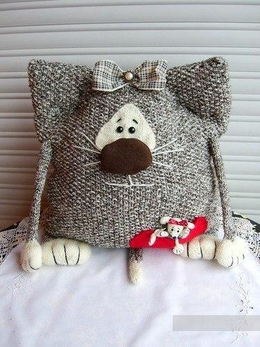 Декоративные подушки своими руками, фото
