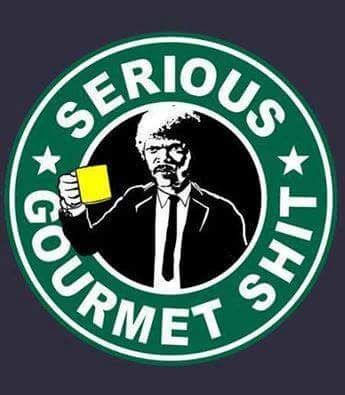 Samuel L Jackson meme Serious Gourmet Shit