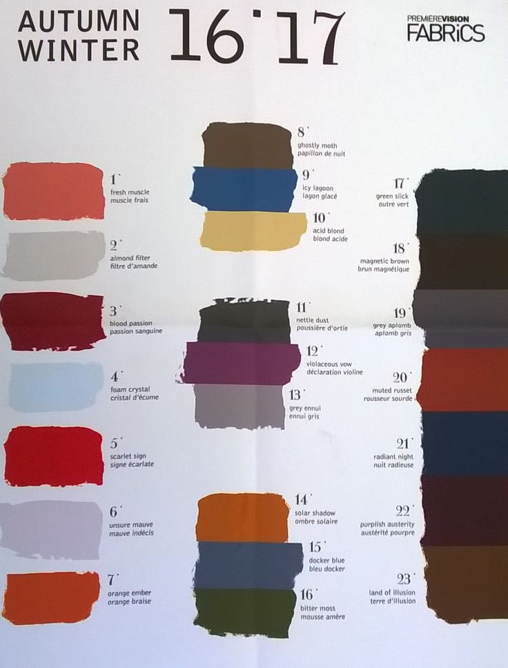 colours aw 16/17 - Google Search
