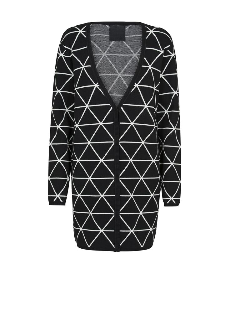 JUST FEMALE AW 2014 // PRINTED SQUARE CARDIGAN