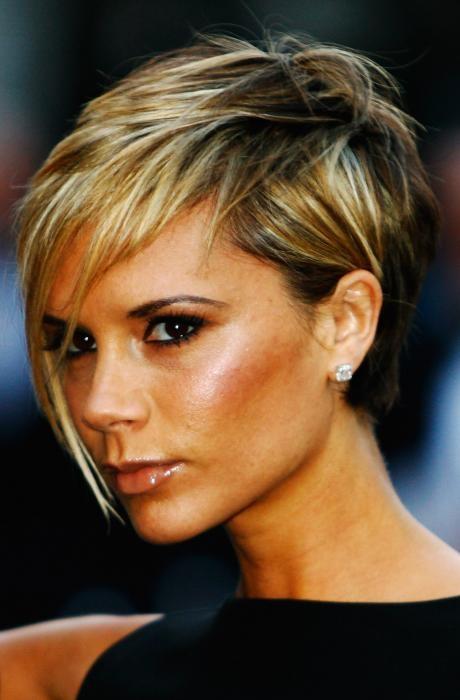 Like the hair. Victoria Beckham