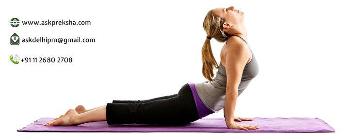#Yoga is the golden key that unlocks the door of internal peace and joy - Adhyatm Sadhna Kendra Our Website: www.askpreksha.com Mail ID - askdelhipm@gmail.com Our Contact No. : +91 11 2680 2708, 2671