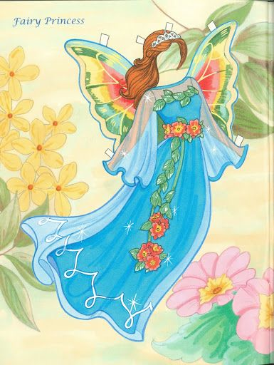 Fairy Paper Doll 04