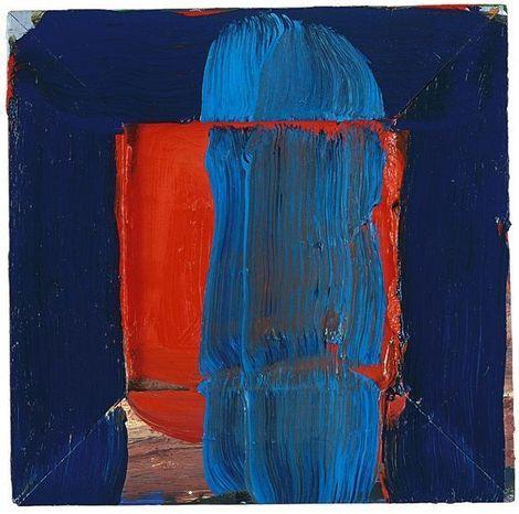Howard Hodgkin, The Red Door 1993 - 1996 on ArtStack #howard-hodgkin #art