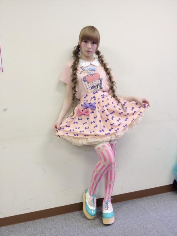 Kyary Pamyu Pamyu wearing fairy kei.