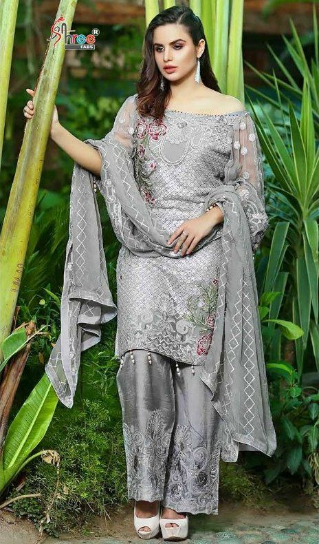 e389fbbc5a Presenting latest collections of Shree Fab Faiza Luxury Collection Vol-10 Suits  Catalog name : Faiza Luxury Collection Vol-10 Fabric details: Top - Faux ...