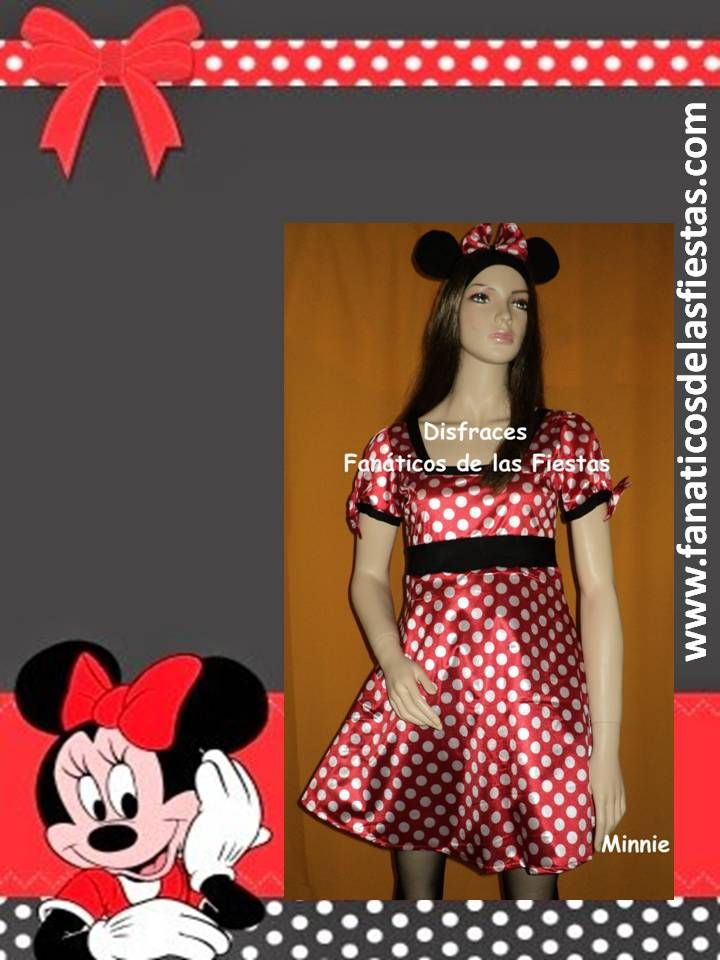 Disfraz de Minnie  Disponible en tallas S y M Precio venta  18.000 pesos. Productos nuevos al mejor precio.