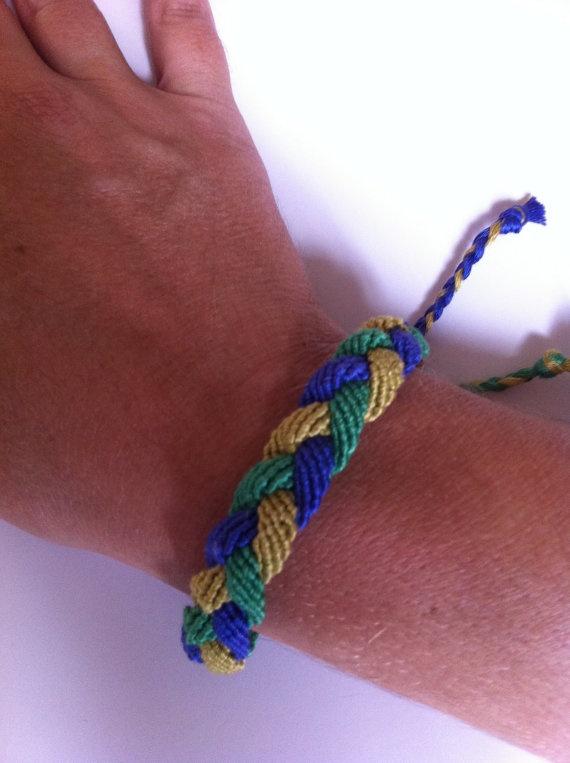 Three Strand Friendship Bracelet $12