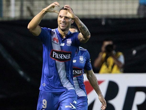 Emelec vence a Atlético Nacional por la Copa Libertadores