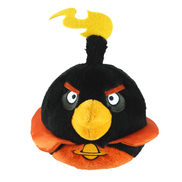 Official Angry Birds Space Licensed Plush Toy - BLACK ...