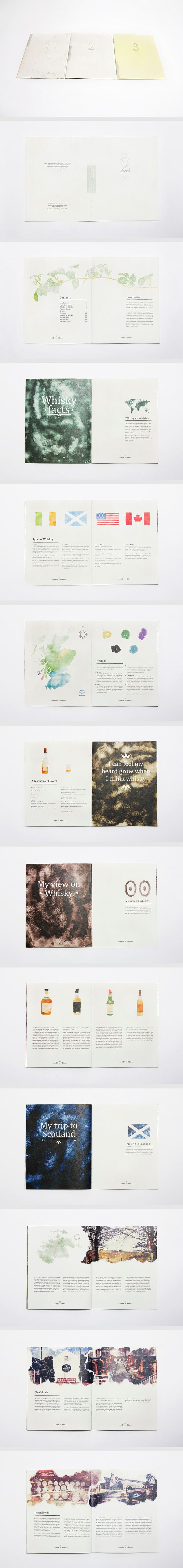 The Water of Life - Book 2 layout by Christer Dahlslett (via Creattica)