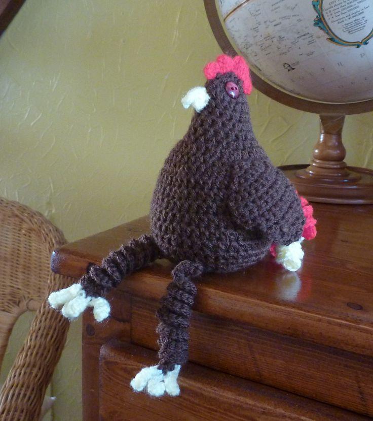 Cool Chicken By Irene Duquette - Free Crochet Pattern - (ravelry)