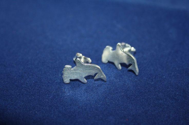 Hammerhead Earrings by ZoesEleuthera on Etsy https://www.etsy.com/listing/252045916/hammerhead-earrings