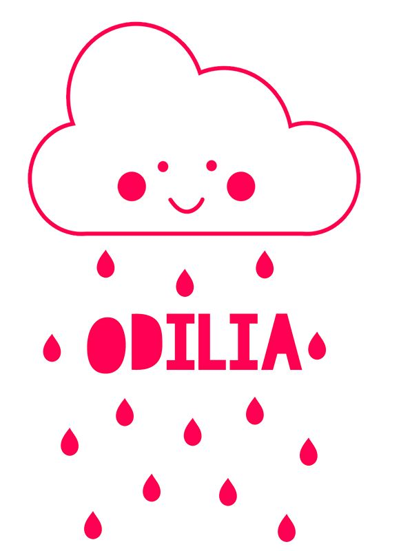 Geboortesticker type Odilia