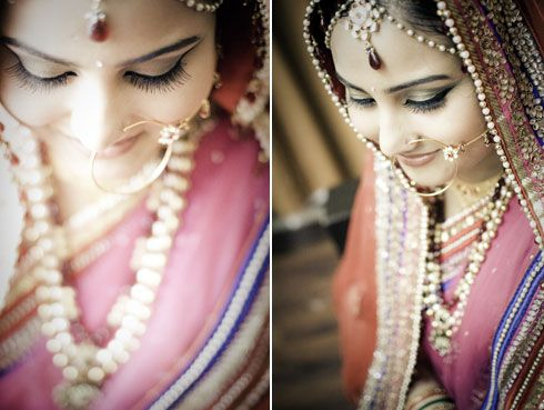 Matha patti, nath, nathni, necklace, Indian bridal jewellery