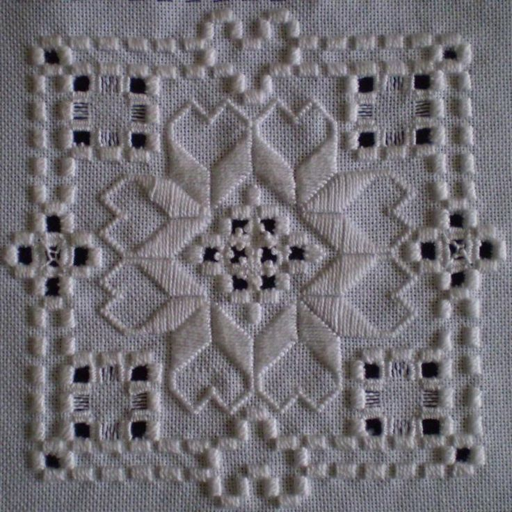 Beautiful handmade Hardanger  I actually made one once, and it's easy even for impatient crafter's like me!