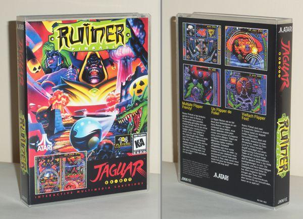 Introducing Atari Jaguar archival game cases | Retro Game Cases