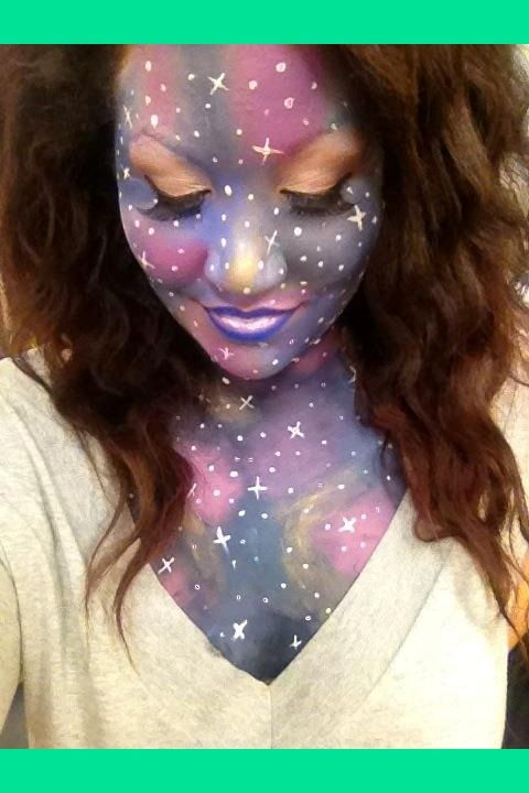 Nebula Fantasy Makeup | Makiba B.'s Photo | Beautylish
