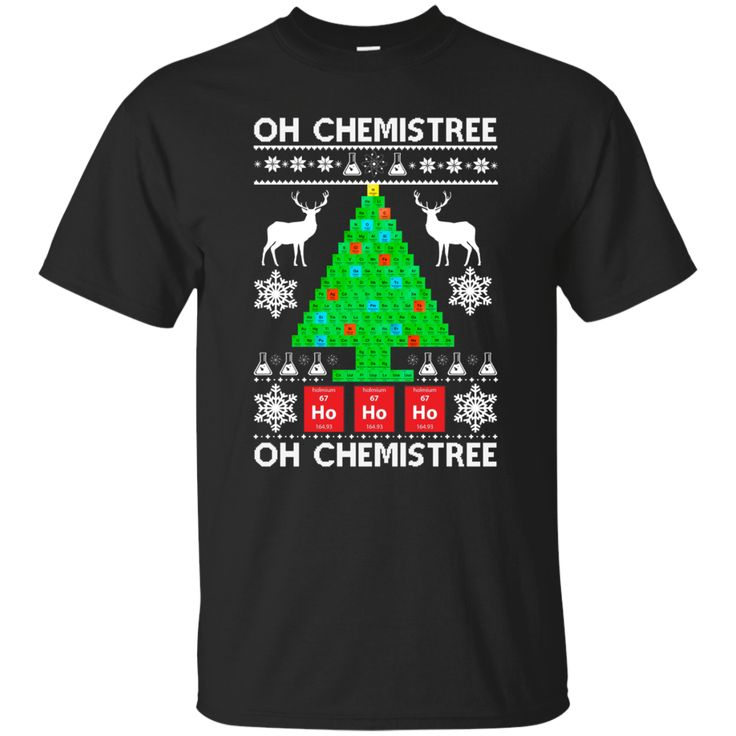 Oh Chemistree Christmas sweater hoodie long sleeve