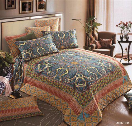Rug-Floral-King-Queen-Size-Bed-Quilt-Doona-Duvet-Cover-Set-New-LongStaple-Cotton