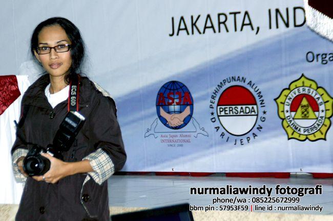 Nurmalia Windy - Fotografer Purwokerto | Windygraphy | Fotografer Wedding | Fotografer Prewedding: Saya Nurmalia Windy saat meliput Symposium Monozuk...
