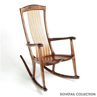 South Yuba Rocking Chair   Claro Walnut   This Place Is In Healdsburg Home Design Ideas