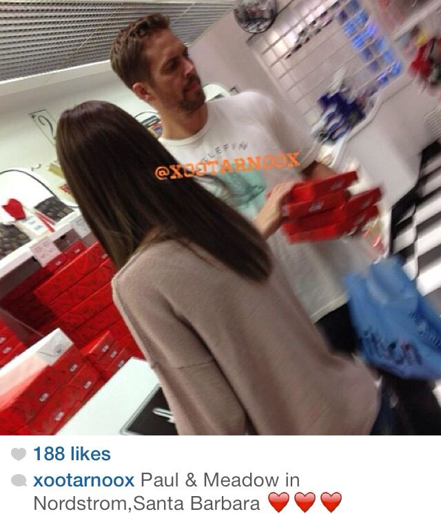 Paul walker in See's not Nordstrom's. Just sayin'
