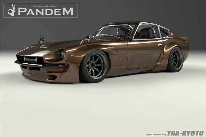 Rocket Bunny Datsun 240Z S30 Full Pandem 240Z Wide-Body Aero Kit