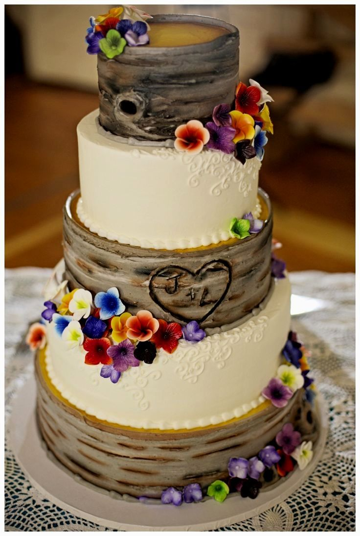 country western wedding cake - Google Search