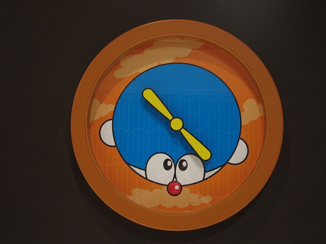 Doraemon Clock Takecopter Style