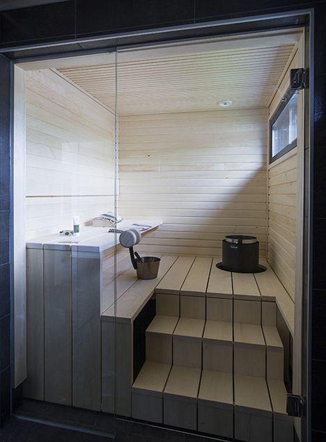 TillinTalo: Sauna rakentuu