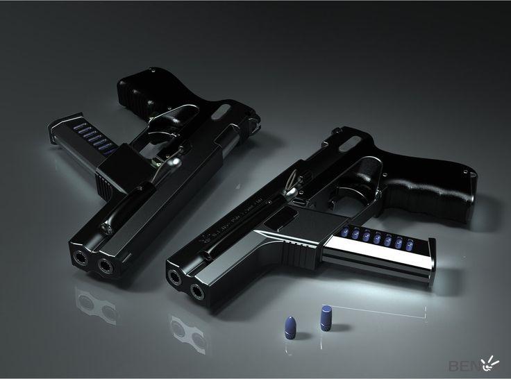 BENoe.P74.P6D Combat Pistol by b-e-noe on DeviantArt