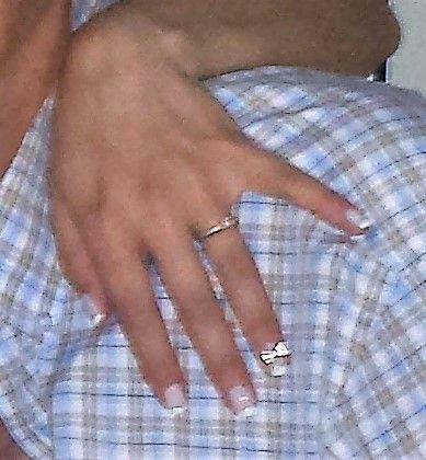 my wedding manicure