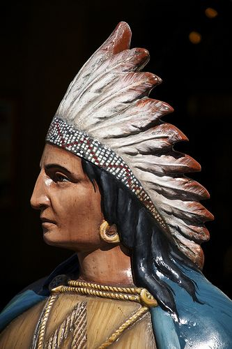 Cigar-Store Indian / http://www.cigarsonlinetoday.com/cigar-store-indian-13/