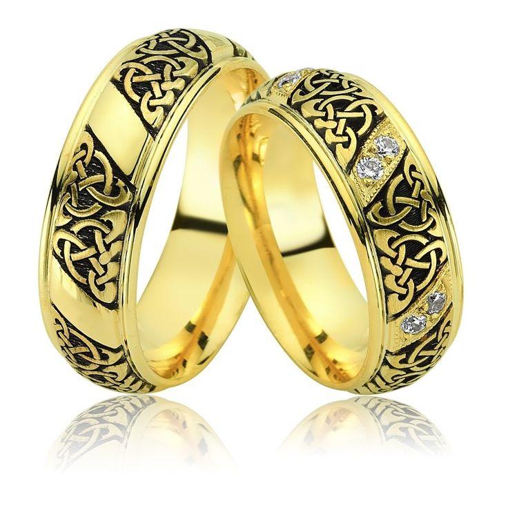 Verighete ATCOM Lux CANNAREGIO din aur galben.