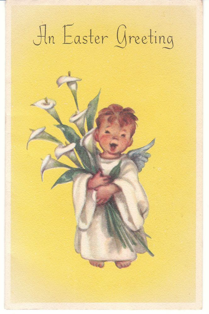 Best Vintage Easter Images On   Vintage Easter