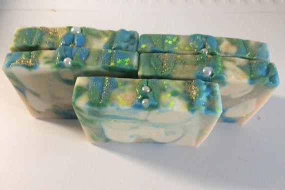 Goat milk soap-White clay-Bergmot Essential Oil-Facial Soap