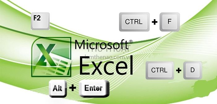 tổng hợp phím tắt trong excel - tin học văn phòng Hotline: 090 333 1985 - 098 787 0217