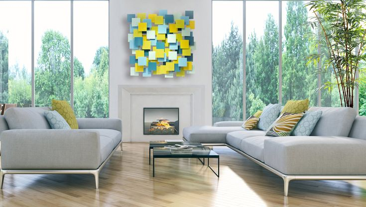 Playtime by Karo Martirosyan (Art Glass Wall Sculpture) | Artful Home