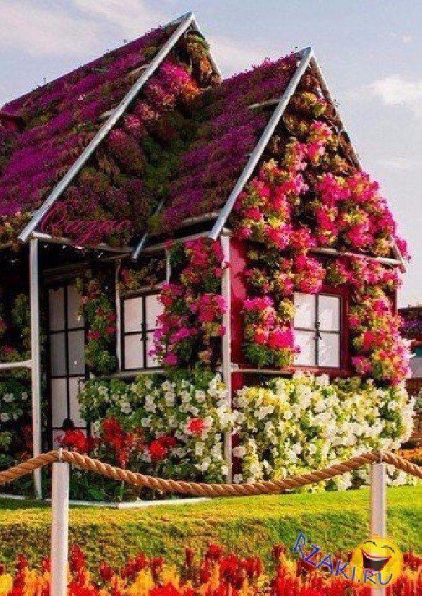 Цветочные домики