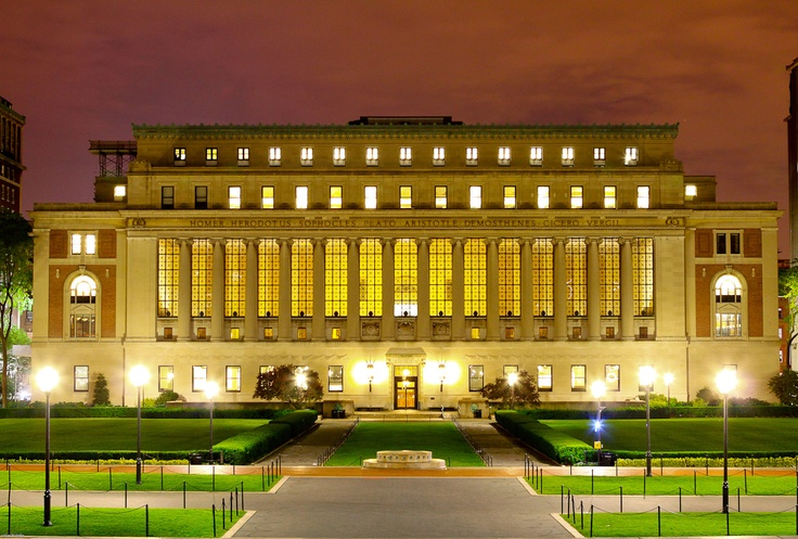 Columbia University in the City of New York {Butler Library}