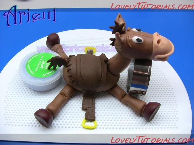 """МК лепка персонажи из мультфильма """"История игрушек"""" -Toy Story characters figure making tutorials - Мастер-классы по украшению тортов Cake Decorating Tutorials (How To's) Tortas Paso a Paso"""