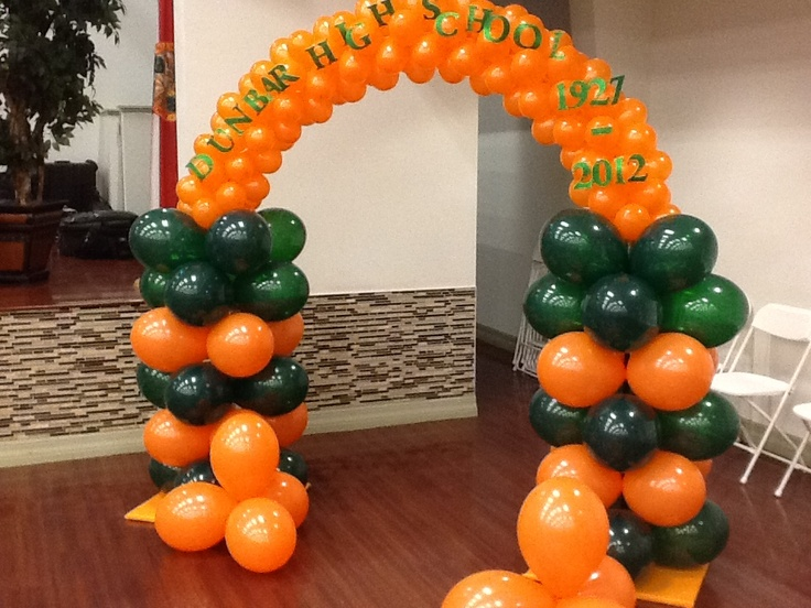 14 best class reunion ideas images on pinterest for Balloon decoration classes