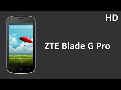 ZTE Blade G Pro listed online powered by a 1.3 GHz Dual Core Processor with 4GB ROM