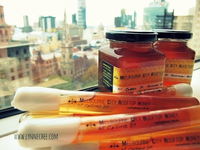 thanks to Lynne Chee for sharing our friends Melbourne Rooftop Honey!